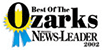Best of the Ozarks - Newsleader 2002